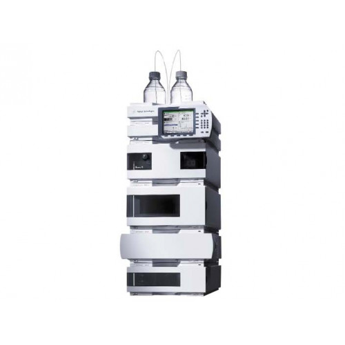 Agilent 1100 HPLC system with RID & ISO Pump