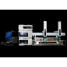Agilent 1100 Preparative HPLC with CTC IFC PAL Liquid Handler