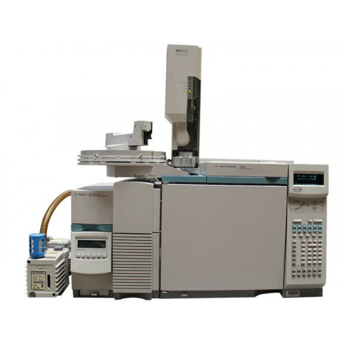 Agilent 6890N GC with 5973N MSD and 7683 Injector