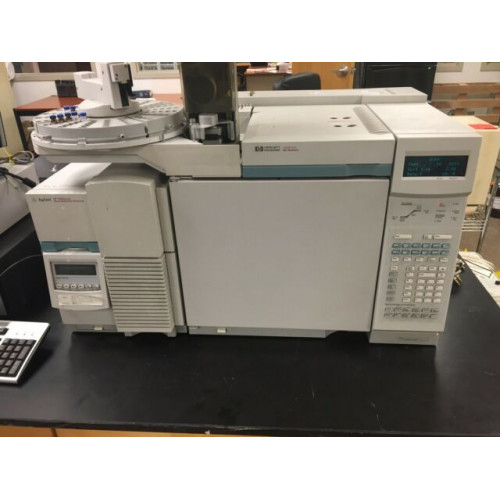 Agilent 6890N GC with 5975C Inert MSD and 7683 Injector
