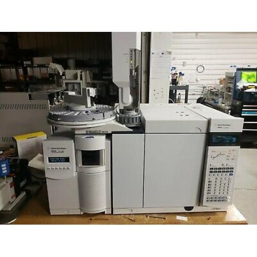 Agilent 7890 / 5975 inert XL GCMS System with CTC Analytics GC PAL
