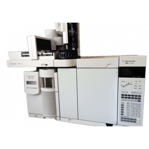 Agilent 7890A GC with 5975 Inert Performance Turbo MSD (G3172A) and 7683B ALS