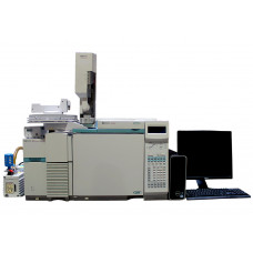 Agilent/ HP 6890 GC PLUS/5973 MSD/7683 ALS GCMS System